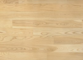Solid ash floor boards