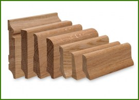 Skirting boards OAK